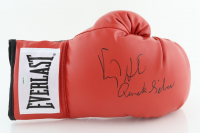 """Virgil Hill Signed Everlast Boxing Glove Inscribed """"Quick Silver"""" (Schwartz Sports COA) at PristineAuction.com"""