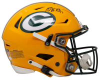 Davante Adams Signed Packers Full-Size Authentic On-Field SpeedFlex Helmet (JSA COA) at PristineAuction.com