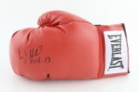 "Virgil Hill Signed Everlast Boxing Glove Inscribed ""HOF 13"" (Schwartz Sports COA) at PristineAuction.com"