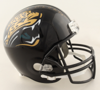 """Mark Brunell Signed Jaguars Full-Size Helmet Inscribed """"Pride of the Jaguars"""" (Schwartz Sports COA) at PristineAuction.com"""
