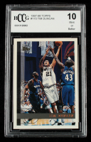 Tim Duncan 1997-98 Topps #115 RC (BCCG 10) at PristineAuction.com