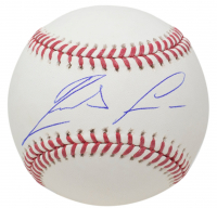 Ronald Acuna Jr. Signed OML Baseball with Display Case (JSA COA) at PristineAuction.com