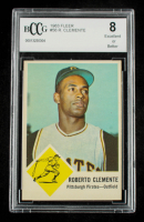 Roberto Clemente 1963 Fleer #56 (BCCG 8) at PristineAuction.com