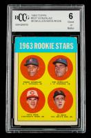 Pedro Gonzalez RC / Ken McMullen RC / Al Weis RC / Pete Rose RC 1963 Topps #537 Rookie Stars (BCCG 6) at PristineAuction.com
