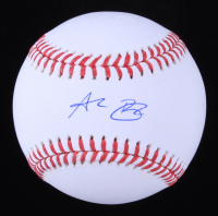 Alec Bohm Signed OML Baseball (MLB Hologram) at PristineAuction.com