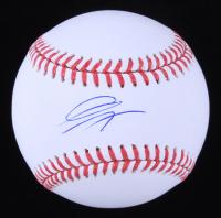 Gavin Lux Signed OML Baseball (MLB Hologram) at PristineAuction.com