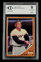 Willie Mays 1962 Topps #300 (BCCG 8) at PristineAuction.com