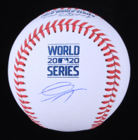 Gavin Lux Signed 2020 World Series Baseball (MLB Hologram) at PristineAuction.com