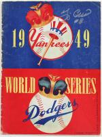 Yogi Berra Signed 1949 World Series Program (Beckett LOA) (See Description) at PristineAuction.com
