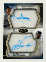 Randy Johnson / Ken Griffey Jr. 2021 Topps Tier One Clear One Dual Autographs #C1DAJG #06/10 at PristineAuction.com