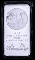 10 Troy oz SilverTowne Prospector Silver Bullion Bar at PristineAuction.com