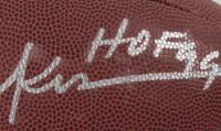 "Eric Dickerson Signed NFL Football Inscribed ""HOF 99"" (Schwartz Sports Hologram) (See Description) at PristineAuction.com"