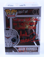 """Ari Lehman Signed """"Friday the 13th"""" - Jason Voorhees #01 Funko Pop! Vinyl Figure Inscribed """"Slayin Yer Gal by The Lake Since 1980"""" & """"Jason 1"""" (Beckett COA) at PristineAuction.com"""