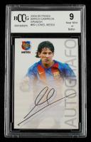 Lionel Messi 2004-05 Panini Barca Campeon Spanish #89 (BCCG 9) at PristineAuction.com