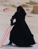 """Ray Park Signed """"Star Wars"""" 11x14 Photo (Beckett COA) at PristineAuction.com"""