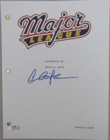 "Charlie Sheen Signed ""Major League"" Movie Script (PSA COA) at PristineAuction.com"
