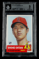 Shohei Ohtani 2018 Topps Living #7 (BGS 9) at PristineAuction.com