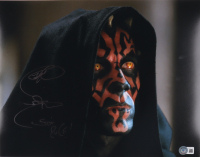 """Ray Park Signed """"Star Wars"""" 11x14 Photo Inscribed """"Sith Rule!"""" (Beckett Hologram) at PristineAuction.com"""