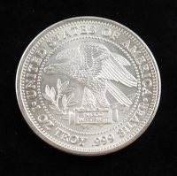 1 Troy Ounce .999 Fine Silver Northwest Territorial Mint Bullion Round at PristineAuction.com