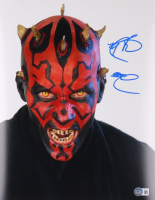 """Ray Park Signed """"Star Wars"""" 11x14 Photo (Beckett Hologram) at PristineAuction.com"""