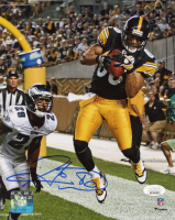 Hines Ward Signed Steelers 8x10 Photo (JSA COA) at PristineAuction.com