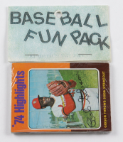 1974-75 Topps Baseball Card Fun Pack with (10) Cards at PristineAuction.com
