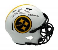 "Hines Ward Signed Steelers Full-Size Lunar Eclipse Alternate Speed Helmet Inscribed ""SB XL MVP"" (JSA COA) at PristineAuction.com"