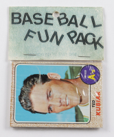 1968-69 Topps Baseball Card Fun Pack with (10) Cards at PristineAuction.com