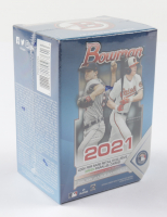 2021 Bowman Baseball Blaster Box with (6) Packs (See Description) at PristineAuction.com