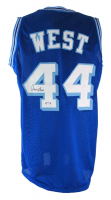 Jerry West Signed Jersey (PSA COA) at PristineAuction.com