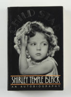 """Shirley Temple Black Signed """"Child Star"""" Hardcover Book (Beckett COA) at PristineAuction.com"""
