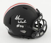 Shaun Wade Signed Ohio State Buckeyes Eclipse Alternate Speed Mini-Helmet (JSA COA) at PristineAuction.com