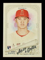 Shohei Ohtani 2018 Topps Allen and Ginter #100 RC at PristineAuction.com