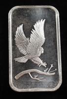 1 Ounce .999 Fine Silver SilverTowne Eagle Bullion Bar at PristineAuction.com