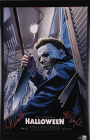 """Nick Castle Signed """"Halloween"""" 11x17 Photo Inscribed """"The Shape"""" (Beckett Hologram) at PristineAuction.com"""