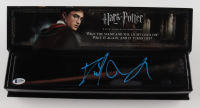 """Daniel Radcliffe Signed """"Harry Potter"""" Illuminating Tip Wand (Beckett Hologram) (See Description) at PristineAuction.com"""