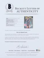 "Stan Lee Signed 2016 ""X-Men '92"" Issue #1 J. Scott Campbell Psylocke Variant Cover Marvel Comic Book (Beckett LOA & Stan Lee COA) at PristineAuction.com"