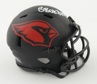 Budda Baker Signed Cardinals Eclipse Alternate Speed Mini-Helmet (Beckett COA) (See Description) at PristineAuction.com