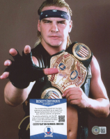 """Barry Windham Signed WWF 8x10 Photo Inscribed """"HOF '12"""" (Beckett COA) at PristineAuction.com"""