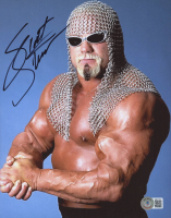 Scott Steiner Signed WWF 8x10 Photo (Beckett COA) at PristineAuction.com