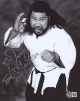 """Haku Signed WWF 8x10 Photo Inscribed """"The Monster"""" (Beckett COA) at PristineAuction.com"""