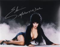 "Elvira Signed ""Elvira's Halloween Special"" 11x14 Photo Inscribed ""Mistress of the Dark"" (Beckett COA) at PristineAuction.com"