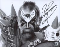 Road Warrior Animal Signed WWF 8x10 Photo (Beckett COA) at PristineAuction.com