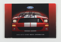 Carroll Shelby Signed 2005 Ford Auto Shows Media Booklet (Beckett LOA) at PristineAuction.com