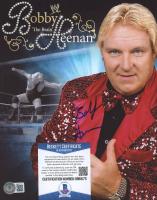 "Bobby ""The Brain"" Heenan Signed WWF 8x10 Photo (Beckett COA) at PristineAuction.com"