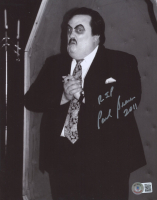 """Paul Bearer Signed WWF 8x10 Photo Inscribed """"RIP"""" & """"2011"""" (Beckett COA) at PristineAuction.com"""