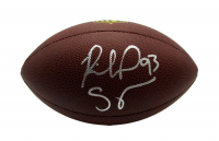 """Richard Seymour Signed Official NFL """"The Duke"""" Game Ball Football (Beckett Hologram) at PristineAuction.com"""
