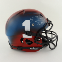 Emmanuel Sanders Signed Full-Size Youth Authentic On-Field Vengeance Helmet (Beckett Hologram) at PristineAuction.com