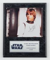 "Mark Hamill Signed LE ""Star Wars"" 12x15 Plaque (Beckett LOA) (See Description) at PristineAuction.com"