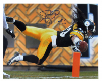 Troy Polamalu Signed Steelers 16x20 Photo (Beckett Hologram) at PristineAuction.com